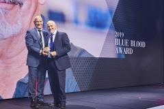 2019 BLUE BLOOD AWARD – Vince Tebb, Business Development Manager.