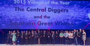 South Australia scooped the Village awards The Central Diggers and Southern Great Whites.
