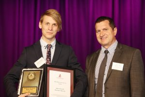 Rising Star award - James Domaille