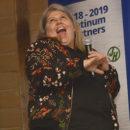 Award winning stand up comedian, Urzila Carlson.
