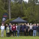 TasmanKB extended tour party.