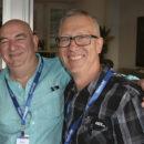 Mick Lamb (Natbuild) and Tim Hateley (Finlaysons).